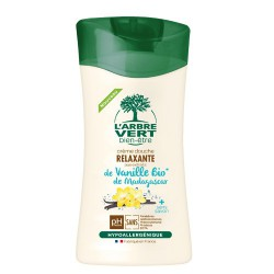 Douche relaxante Vanille de Madagascar bio L'ARBRE VERT