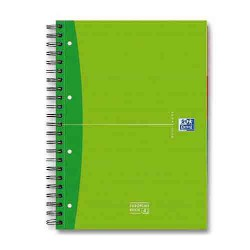 Cahier spirales A4+ 5x5 180pages Europeanbook OXFORD