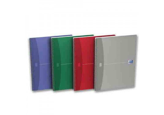 Cahier spirales A4+ 5x5 180pages Essentials OXFORD