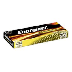 Piles alcalines x10 LR3 AAA ENERGIZER Industrial