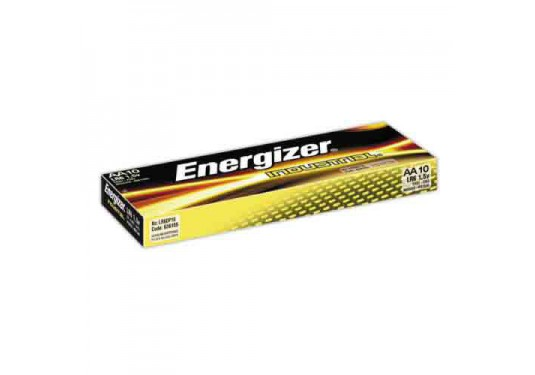 Piles alcalines x10 LR6 AA ENERGIZER Industrial