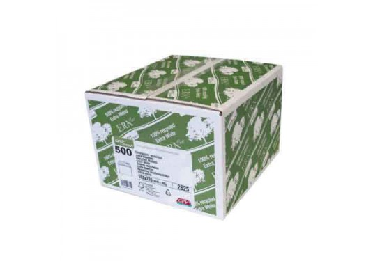 Enveloppes blanches recyclées 162x229 Era Pure GPV Green