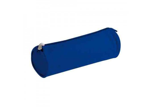 Trousse ronde bleue CLAIREFONTAINE