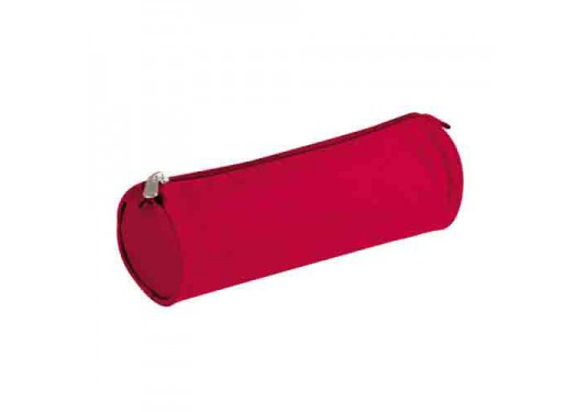 Trousse ronde rouge CLAIREFONTAINE