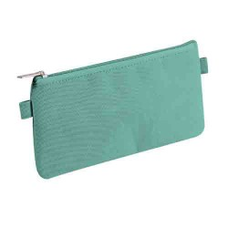 Trousse plate turquoise 22x11cm CLAIREFONTAINE