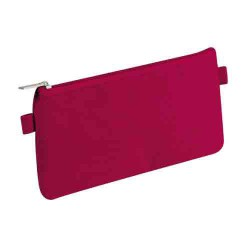 Trousse plate framboise 22x11cm CLAIREFONTAINE
