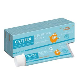 Dentifrice 7 ans et + goût orange CATTIER