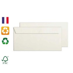 Enveloppes blanches recyclées 110x220mm Forever CLAIREFONTAINE