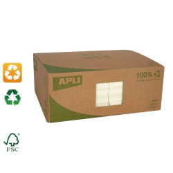 Lot de 12 blocs de notes repositionnables papier recyclé 125x75mm APLI AGIPA