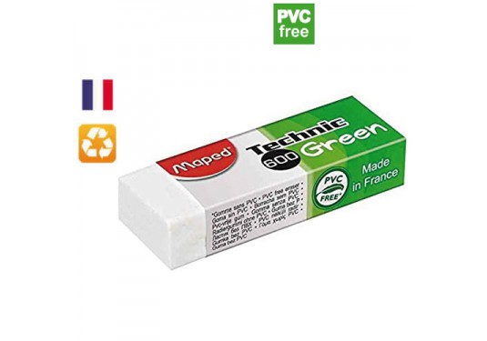 Gomme écologique Technic 600 Green MAPED