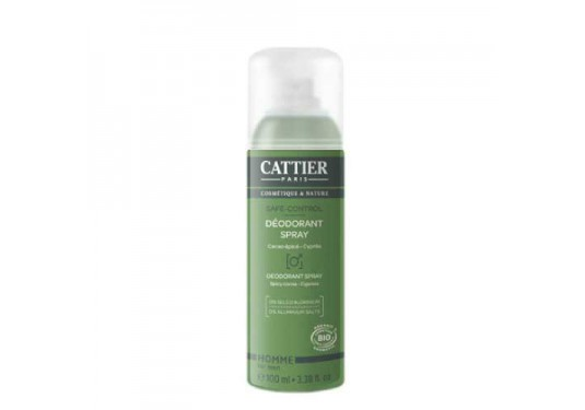 Déodorant spray homme Safe control CATTIER