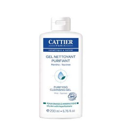 Gel nettoyant purifiant - Menthe & Tea Tree / CATTIER