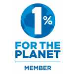 Logo : 1% for the planet.