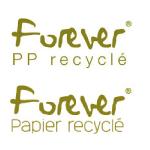 Logo : Forever recyclé par EXACOMPTA